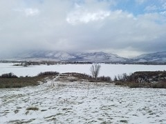 Cold weather in Huntsville, Utah (denebola2025) Tags: huntsville utah eden snow basin cold weather winter frozen lake ice nature mountains mountain national forest park