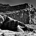 Lights and Shadows Bringing out a Drama in Black & White (Capitol Reef National Park)