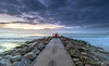 Horizon (nicklucas2) Tags: bournemouth seascape beach groyne seaside sea sand cloud tanker