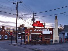 Allman's Pit Cooked Bar-B-Q (r.w.dawson) Tags: fredericksburg virginia va architecture building restaurant rt1 allmanspitcookedbarbq bbq