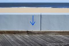 02 February 2018:  Right here (RobinMSP) Tags: february2018c dailywalk winter beach boardwalk ocean wall oceancity easternshore maryland maidinsunphotography