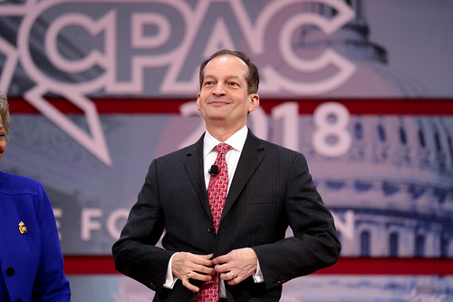 Alexander Acosta.  Let's just keep things buttoned up.