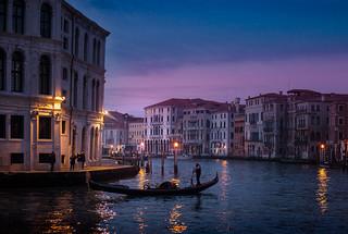 Venetian blue hour