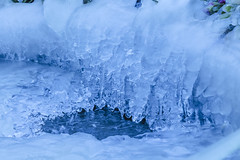 Ice Cold Blue (Chrissphotos) Tags: cold weather ice blue frozen chilly winter simplephotography snapshot time