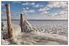 Frozen (Marcel Kramer K5) Tags: winter ice lake markermeer marcelkramer pentax clouds