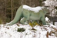 Iguanodon | CP Snow | Feb 2018-27 (Paul Dykes) Tags: crystalpalace london england uk gb unitedkingdom snow uksnow londonsnow