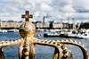 Stockholm (drasphotography) Tags: stockholm sverige schweden sweden cross kreuz krone water harbour boats sky drasphotography d7k travel travelphotography reise reisefotografie