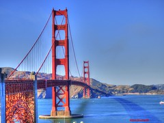 The Golden Gate Bridge (Anton Shomali - Thank you for over 1 million views) Tags: smoke rocks mountain sky shoreline connect steel sailor sailing boat waves wave sea ocean golden bridge sunset san francisco sf st fran california bay beach red sun water cross car cars people city area metal nature blue night light lights park parks bird lake river orange color beautiful beauty greatphotographers skyline thegoldengatebridge gate fog sanfrancisco sanfranciscobay sanfranciscobayarea panasonic dmcfz70 shadow iron bright window dusk ship art cloud summer town sail presidio national presidionationalpark