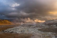 Hverarönd (naturum) Tags: 2017 autumn fall geo:lat=6564031642 geo:lon=1680980623 geotagged geothermie herfst hverarond hverarönd iceland ijsland ísland landscape landschap myvatn mývatn namaskard námaskarð september steam stoom mývatni isl