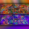 Primordial Soul Window (MattCrux) Tags: psychedelic lsdtrip acid abstract trippy colorful rainbow lsd strange weird drug drugs weed high trip love acrylic painting acrylicpainting traditional canvas paint painted artist drawing illustration art arts expressive different beautiful artsy creativity creative