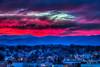 Brrr Blue Hour Hot Pinks Blue Ridge Roanoke (Terry Aldhizer) Tags: hot pinks frozen blue hour brrr cold ridge roanoke city virginia twilight evening nightfall terry aldhizer wwwterryaldhizercom