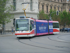 Brno tram No. 1820 (johnzebedee) Tags: tram transport publictransport vehicle brno czechrepublic johnzebedee skoda skodaastra