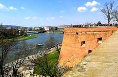 Wawel Castle (ika_pol) Tags: krakow cracow poland oldtown wawel unesco geotagged vistula river castle walls