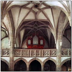 Wartberg ob der Aist                   (4238 inhabitants) (pixel_unikat) Tags: parishchurch granite vault mühlviertel church austria upperaustria gothicstyle naves architecture organ catholic