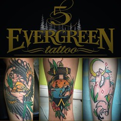 I'm working the amazing Evergreen tattoo invitational. I'm so excited! I still have some available time. Email me at, chris@tattooboogaloo.com for more information. Come by the booth to say hello.