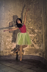 Wendy 1 (Artypixall) Tags: cuba havana ballerina youngwoman posing dancing interior mansion