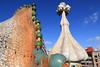 Casa Battló (HimalAnda) Tags: barcelone espagne barcelona spain gaudi battlo casa maison toit roof colors couleurs stéphanebon canoneos70d eos70d ville city architecture