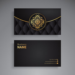 Business Card. Vintage decorative elements. Ornamental floral business cards or invitation with mandala (hammadkhalid8) Tags: card business name vintage flower mandala wedding arabic banner decoration element ethnic floral frame henna identity indian invitation motive ornament paper pattern retro style template tribal web turkish pakistan abstract abstraction background black circle cover design islam meditation motif mystical ottoman paganism phone print round site tattoo vector yoga snowflake