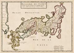 Philip Briet - Royaume Du Iapon Designe par le Pere Ph. Briet (c.1667) (Pau NG) Tags: philipbriet art maps nihon japan