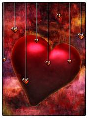 All You Need Is Love (Swissrock-II) Tags: challenge heart love photoshop photomanipulation photoshopart digitalart lightroom texture allyouneedislove 2018 andykobel deviantart valentinesday valentine