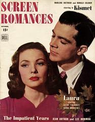 Laura (1944) (BudCat14/Ross) Tags: laura danaandrews 1944 1940s preminger genetierney noir movies cinema