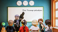 The trump solution (Frédéric J) Tags: trump usa america great again weapons school shooting nra president guns