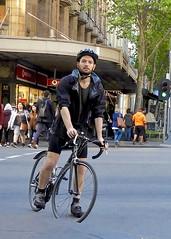 DSCN2407 (danimaniacs) Tags: melbourne australia bicycle bike man guy hot sexy beard scruff helmet cap