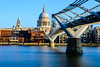 The River (George Plakides) Tags: millenniumfootbridge bridge stpauls bigstopper lee thamesriver