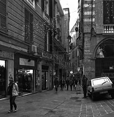 """Angle"" (giannipaoloziliani) Tags: nikond3200 people city citylife life capturestreets nikonphotography nikoncamera vicoli alleys street streetlife streetphotography nikon monochrome monocromatico genova genoa biancoenero blackandwhite"