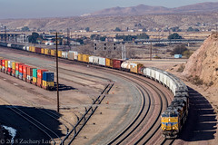 UP 7990 East: M-WCNP at Barstow, California (Z-Trains) Tags: trains train railfan railfanning barstow barstowrailfan cajon needles bnsf up unionpacific
