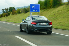 BMW M2 (aguswiss1) Tags: supercar racer switzerland auto carspotting bmw car highway sportscar fastcar m2 cruiser dreamcar panning autobahn ferrari caroftehday