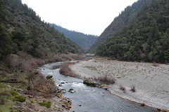 View, as we hiked past Sanderson Island (rozoneill) Tags: rogue river trail blm medford grants pass galice whiskey creek cabin graves rainie falls rapids oregon hiking