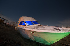 Starboard List (Nocturnal Kansas) Tags: night nocturnal fullmoon lightpainting flashlight radium led1 protomachines d800 nikon texas
