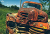 lean-in ... i got some stories to tell ... (Marty Hogan) Tags: us41 menomineecounty michigan upperpeninsula fordtruck abandonedtruck rustytruck rust brokendown