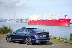 2018 Audi S5 Sportback (Rob Overcash Photography) Tags: audi s5 sportback b9s5 b9s4 s5sportback navarrablue vossen s1701 abt abttuning abthas rs5 b9rs5 fuji xt2