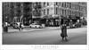 Crossing Lexington (G Dan Mitchell) Tags: newyork city lexington avenue man cross street greencafe intersection winter afternoon manhattan eastside urban usa north america blackandwhite monochrome