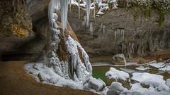 Cascade l'hiver (Rémi Pozzi) Tags: alpes bugey france cascade eau glace hivers montagne nature paysage rivière roche