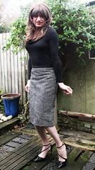 Bit More Choice (Amber :-)) Tags: pencil skirt tgirl transvestite crossdressing