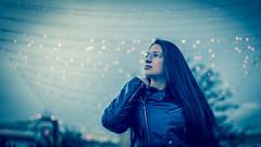 Retrato (Daniel SC Photography) Tags: 5dmarkii retrato portrait bokeh fotografia photography canon cuero blue mirada
