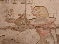 Ramesses offers Maat, Karnak (Aidan McRae Thomson) Tags: karnak temple luxor egypt relief carving ancient egyptian