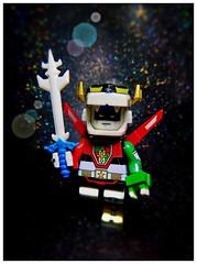 Voltron, Defender of the Universe (LegoKlyph) Tags: lego custom bricks blocks mini figure cartoon saturdaymorning 80s golion voltron defend galaxy lions