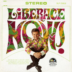 Liberace Now! (Jim Ed Blanchard) Tags: lp album record vintage cover sleeve jacket vinyl weird funny strange kooky ugly thrift store novelty kitsch awkward liberace now hippy psychedelic