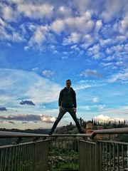 Good to be back in Pitigliano for 48 hours (Marcello Iaconetti Photography) Tags: pitigliano clouds nuvole cielo sky me portrait ritratto huawei p10 colors tuscany toscana gennaio january nike snapseed diego nipote tufo reckless