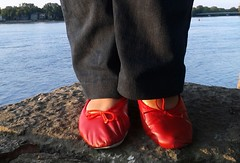 Gigi (5334) (Duke of Slippers) Tags: ballet slippers shoes pumps flats fetish footwear ballerinas ballerines scarpe pantofole pantoufles soft soles