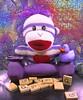 G is for grape (muffett68 ☺ heidi ☺) Tags: g grape februaryalphabetfun sockmonkey ducky