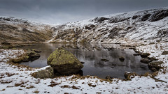 Scoat tarn (Ade G) Tags: landscape rocks seasons lakes mountains snow tarn winter