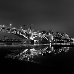 "the ""beautiful"" twice (my analog journey) Tags: 500cm ilfordfp4 hasselblad mediumformat longexposure cologne rhein deutz reflections nightshot homedeveloped ilfosol3 bnw blackwhite blackandwhiteisitworthtofight movformatcom filmdev:recipe=11770 ilfordfp4125 ilfordilfosol3 film:brand=ilford film:name=ilfordfp4125 film:iso=100 developer:brand=ilford developer:name=ilfordilfosol3"