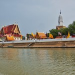 Wat Putthaisawan by the Chao Phraya river in Ayutthaya, Thailand thumbnail