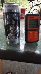 20170524_184106 (awinner) Tags: 2017 alchemist alcohol americanpaleale beer bitter can headytopper home hoppy ipa largoflorida may2017 may24th2017 thermometer thermpro