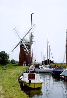Horsey Mill, Norfolk, 8th August 1992